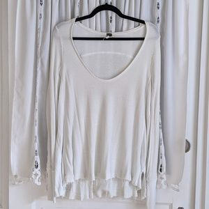 Free People oversized thermal tunic